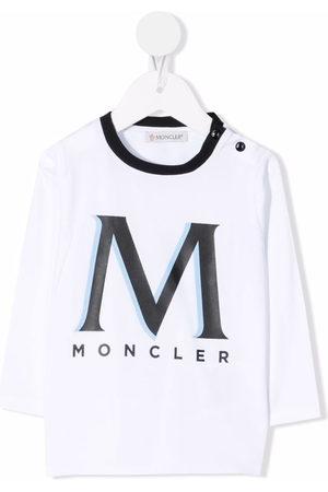 Moncler T-shirts - Logo-print cotton T-shirt