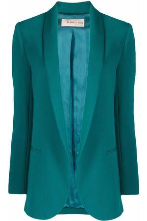 BLANCA Shawl-lapel single-breasted blazer