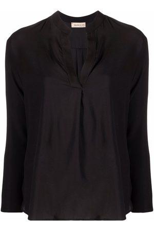 BLANCA Women Blouses - Silk-blend blouse