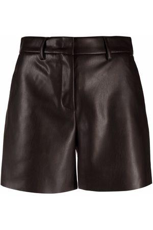 BLANCA Women Shorts - Faux-leather shorts
