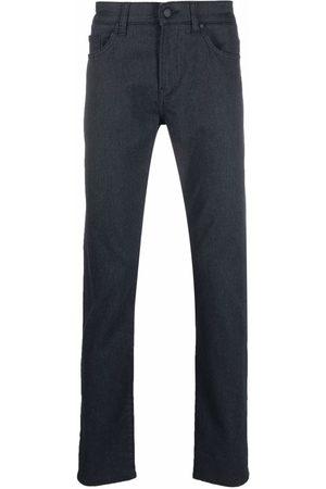 HUGO BOSS Men Slim - Mid-rise straight jeans