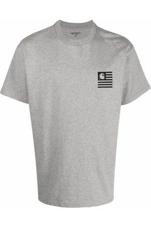 Carhartt Wavy State organic cotton T-shirt - Grey