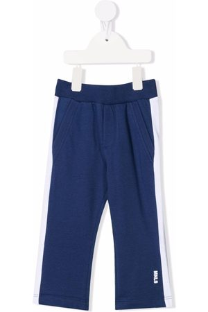 MONNALISA Chinos - Contrast-panel track trousers