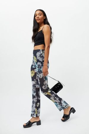Urban Remnants Outseam Mesh Flare Pant