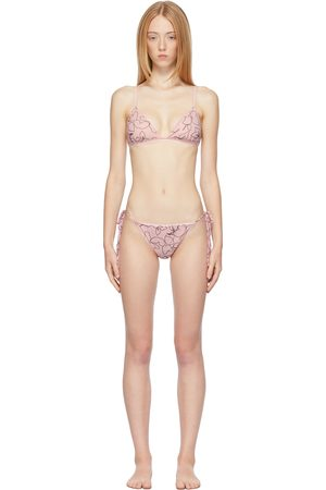 Ichiyo Women Socks - SSENSE Exclusive Blooming Skin Lingere Set