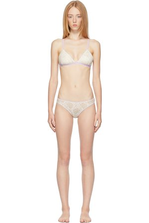 Ichiyo Women Socks - Beige Angel Lingerie Set