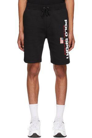 Polo Ralph Lauren Men Sports Shorts - Black Fleece 'Polo Sport' Shorts