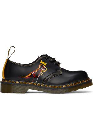 Dr. Martens Men Formal Shoes - Black Jean-Michel Basquiat Edition 1461 Basquiat II Derbys
