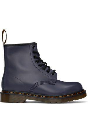 Dr. Martens Men Lace-up Boots - Blue 1460 Lace-Up Boots