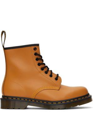 Dr. Martens Men Lace-up Boots - Orange 1460 Lace-Up Boots