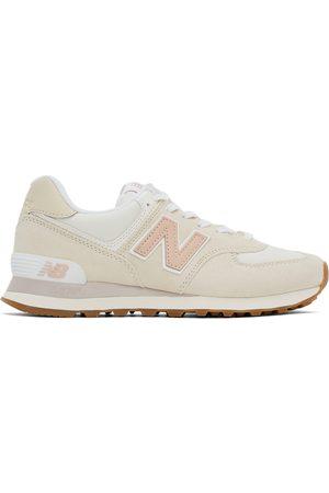 New Balance Women Sneakers - Beige & Off- 574 Sneakers