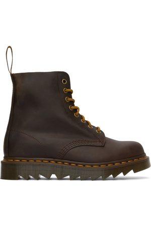 Dr. Martens Men Boots - Brown 1460 Pascal Ziggy Boots