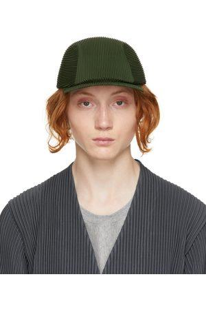 HOMME PLISSÉ ISSEY MIYAKE Green Pleated Cap