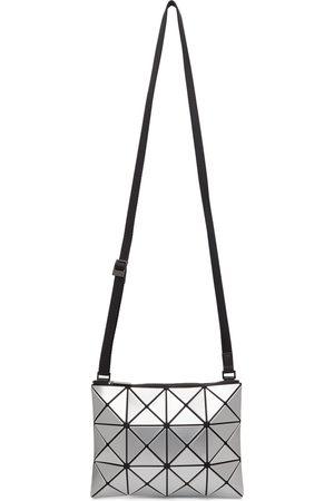 BAO BAO ISSEY MIYAKE Men Luggage - Silver Lucent Crossbody Bag