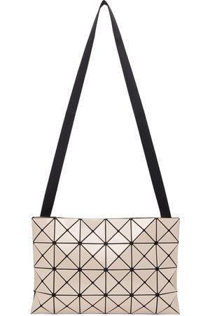 BAO BAO ISSEY MIYAKE Beige Lucent Crossbody Bag