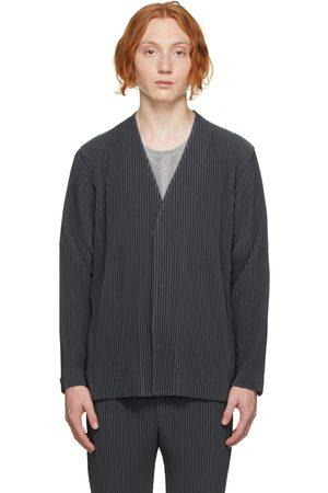 HOMME PLISSÉ ISSEY MIYAKE Men Blazers - Grey Tailored Pleats 1 Blazer