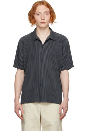 HOMME PLISSÉ ISSEY MIYAKE Men Short sleeves - Grey Monthly Color July Short Sleeve Shirt