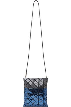 BAO BAO ISSEY MIYAKE Men Luggage - Grey & Blue Platinum Mermaid Crossbody Bag