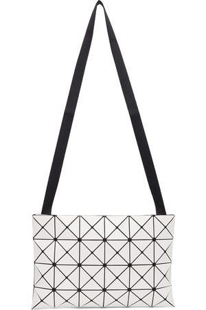 BAO BAO ISSEY MIYAKE Men Luggage - White Lucent Crossbody Bag
