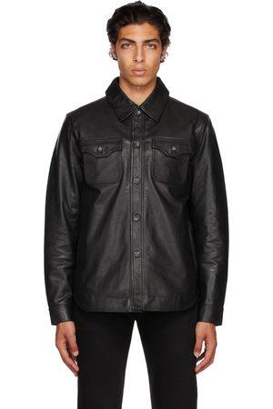 Tiger of Sweden Men Leather Jackets - Black Get L Leather Jacket