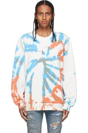 AMIRI Men Sweatshirts - Orange & Blue Core Tie-Dye Sweatshirt