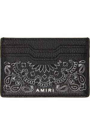 AMIRI Men Wallets - Bandana Card Holder
