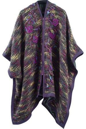 AUTRE MARQUE Wool poncho