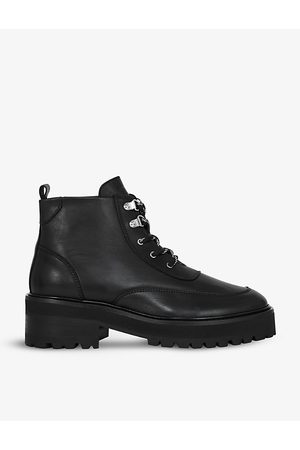 The Kooples Women Ankle Boots - Lace-up leather ankle boots