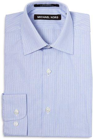 Michael Kors Boys' Cotton Striped Dress Shirt - Big Kid