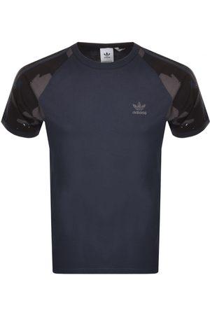 adidas Men T-shirts - Camo Cali T Shirt Navy