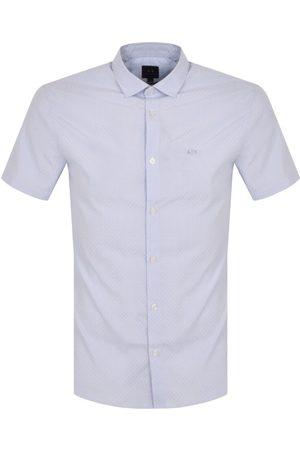 Armani Men Short sleeves - Checked Short Sleeve Shirt
