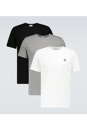 Moncler Pack of three cotton T-shirts