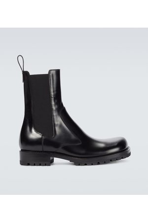 DRIES VAN NOTEN Leather Chelsea boots