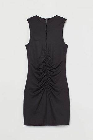 H&M Gathered-detail Dress