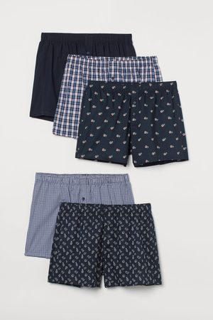 H&M 5-pack Woven Boxer Shorts