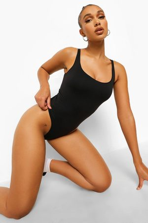 Boohoo Womens Recycled Seamless Square Neck One Piece - - S