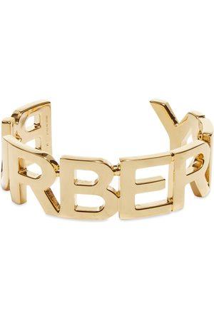 Burberry Men Bracelets - Logo Cuff Bracelet