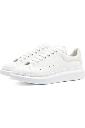 Alexander McQueen Men Platform Sneakers - Canvas Wedge Sole Sneaker