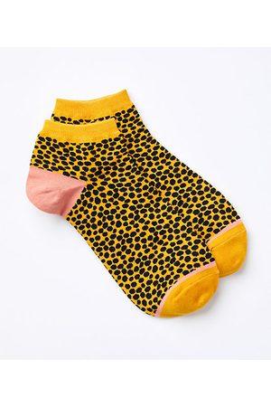 LOFT Women Socks - Leopard Print Ankle Socks