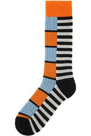 ANT45 Perugia Double Stripe Cotton Blend Socks