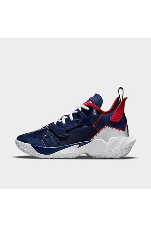 """Nike Sneakers - Jordan Big Kids' """"Why Not?"""" Zer0.4 Basketball Shoes in / Void Size 4.0"""