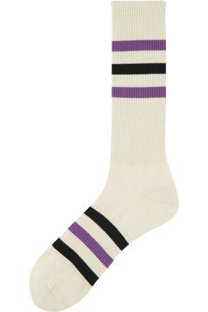 ANT45 Castello Stripe Cotton Blend Socks