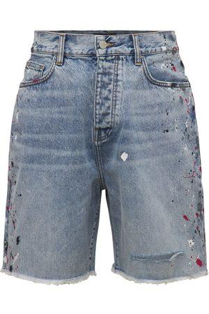 AMIRI Painter Cotton Denim Shorts