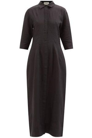 ASCENO New York Organic Linen-lawn Shirt Dress - Womens