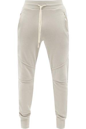 JOHN ELLIOTT Men Sweatpants - Escobar Cotton-jersey Track Pants - Mens - Grey