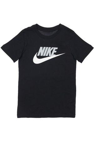 Nike Boys T-shirts - Logo Print Cotton Jersey T-shirt