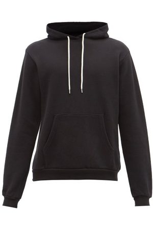 JOHN ELLIOTT Men Sweatshirts - Beach Cotton-jersey Hooded Sweatshirt - Mens