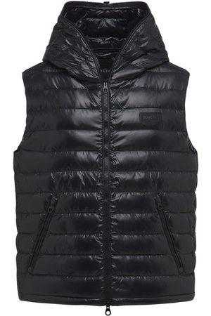 Duvetica Men Gilets - Caserso Hooded Shiny Nylon Down Vest