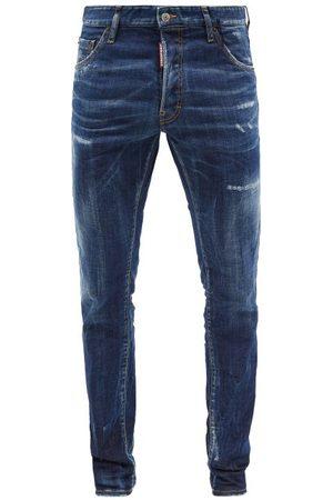 Dsquared2 Cool Guy Distressed Slim-leg Jeans - Mens