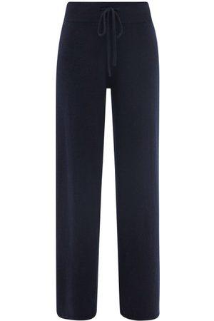 Lisa Yang Women Straight Leg Pants - Sofi High-rise Cashmere Straight-leg Trousers - Womens - Navy